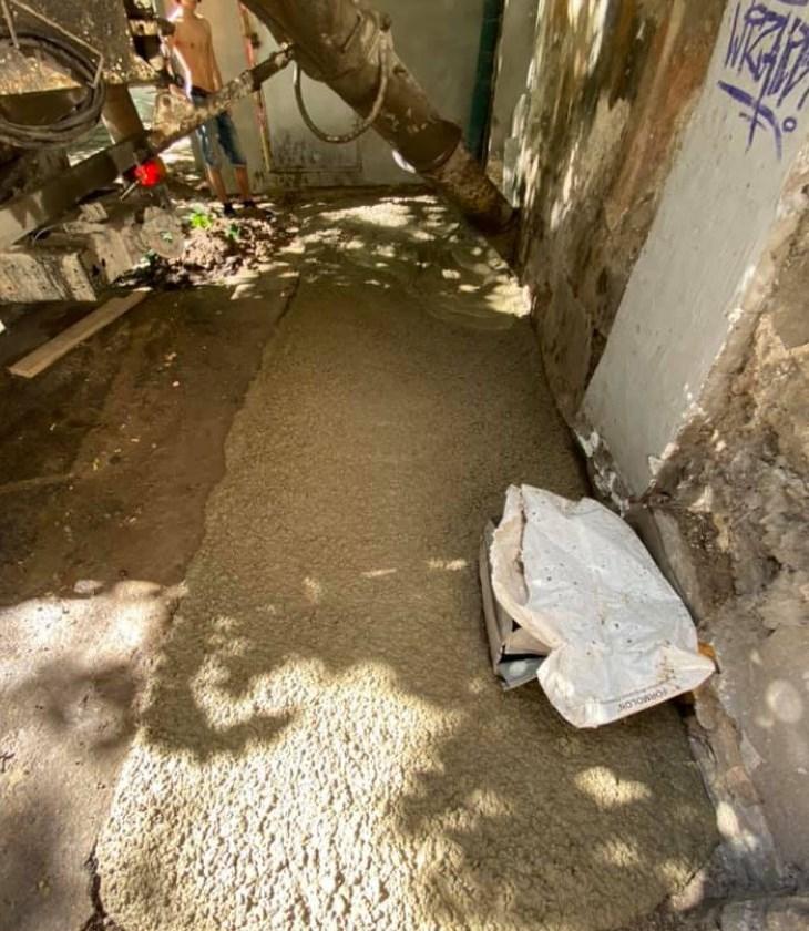 Людей залили бетоном штукатурка газосиликатных блоков внутри помещения цементным раствором