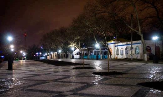 На берегу Чёрного моря появилась новая набережная
