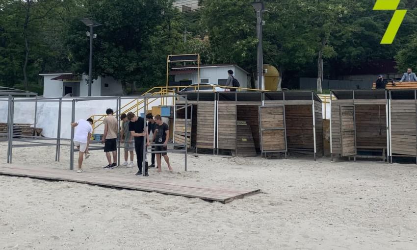 В Одессе не все пляжи готовы к началу сезона
