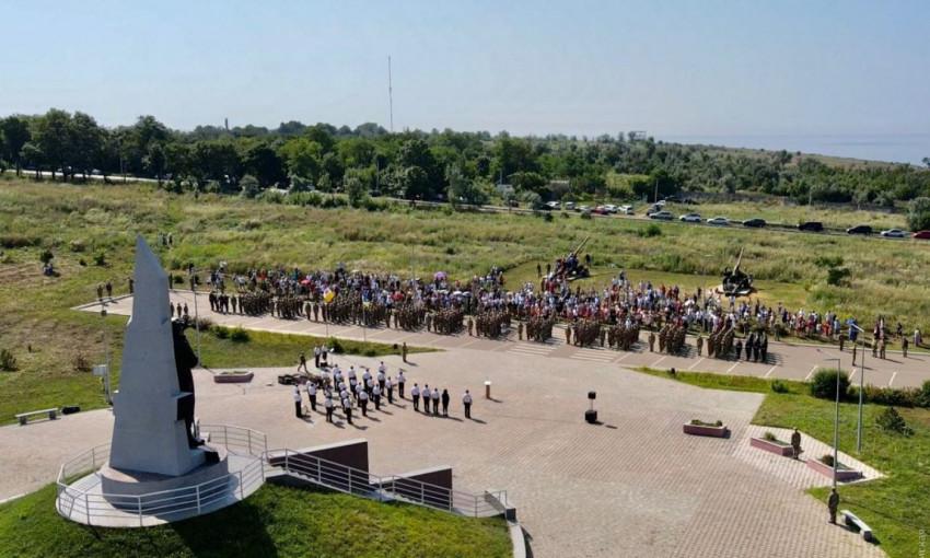 Одесская военная академия провела выпуск офицеров запаса