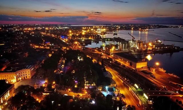 Одесситы сняли красивое видео города с высоты