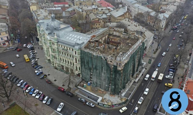 Дом Либмана в Одессе может рухнуть – что не так с реставрацией?