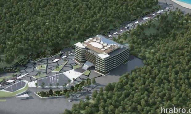 В Аркадии построят 14-этажный отель