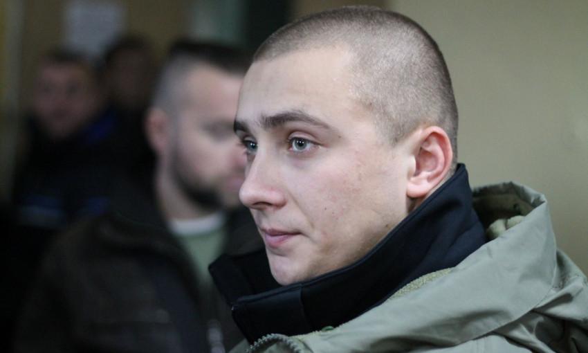 Активист Сергей Стерненко дал в больнице интервью по нападению на него