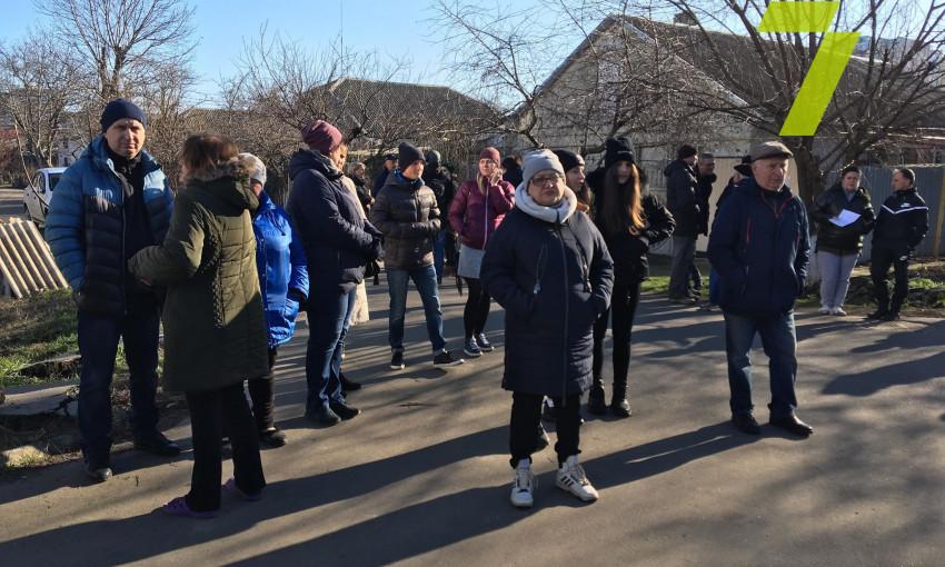 Жители Одессы протестуют против очередной застройки