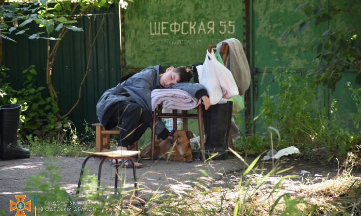 В ГСЧС организовали пункты временного пребывания для жертв недавней непогоды
