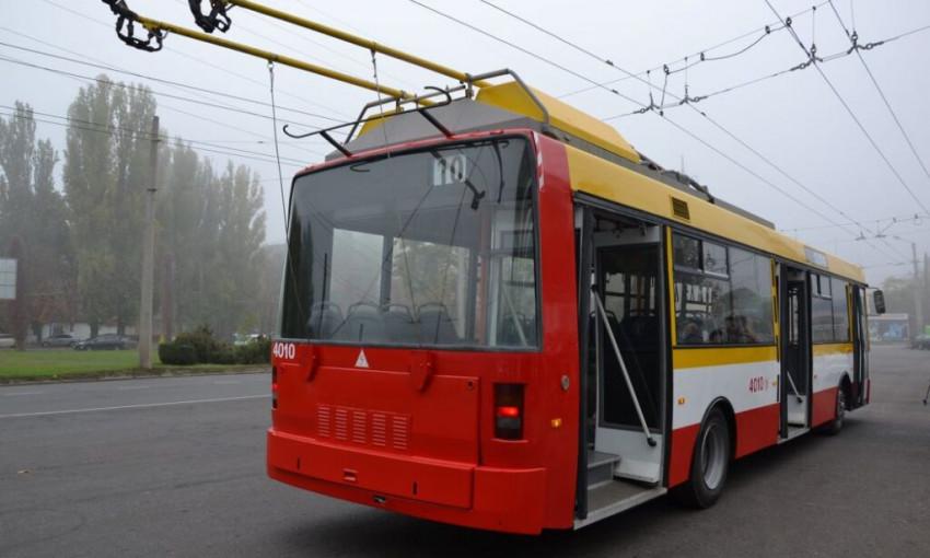 В Одессе наблюдаются перебои в работе городского транспорта