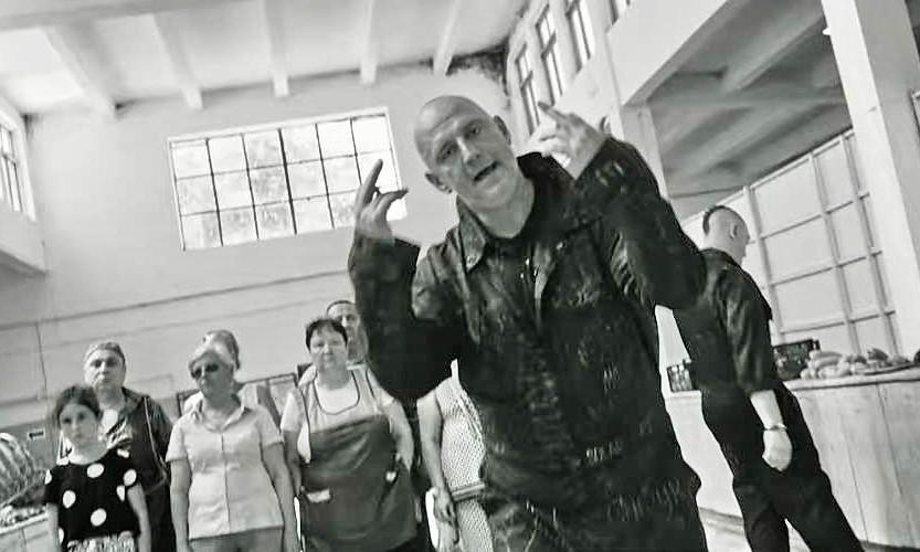Потап снял новый клип в Одессе