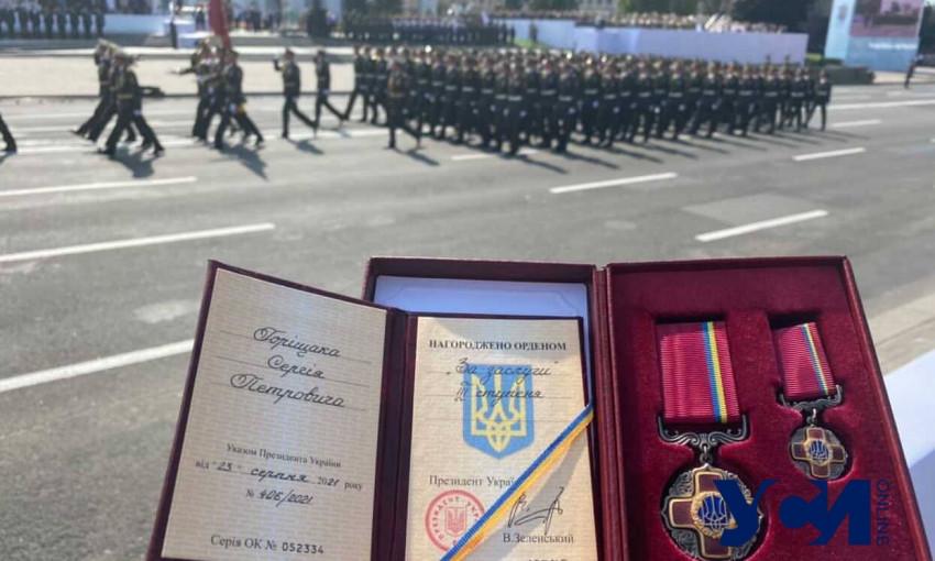 Владимир Зеленский наградил одесского врача орденом