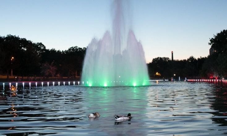 Общественный бюджет – 2017: большой пруд в парке Победы преобразился
