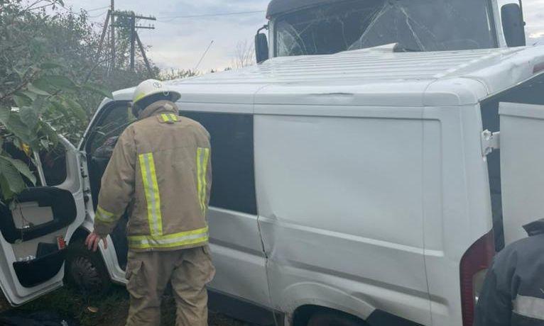 Под Одессой произошло ДТП, в котором пострадала семья с детьми