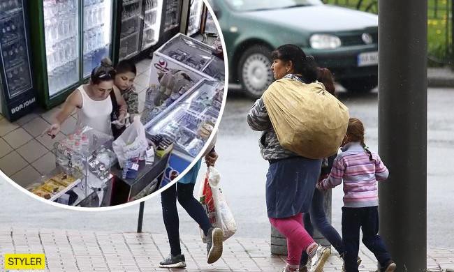 В Одессе орудует семья ромов, которые терроризируют продуктовые магазины города