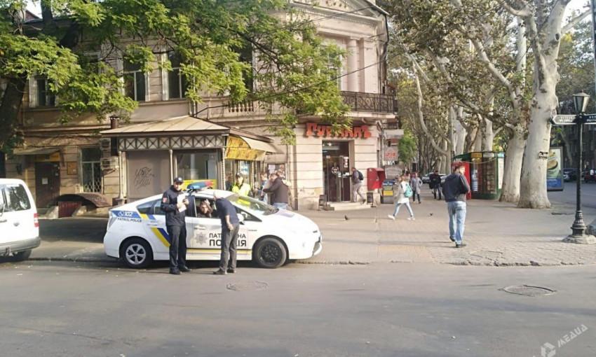 На Базарной столкнулись два автомобиля