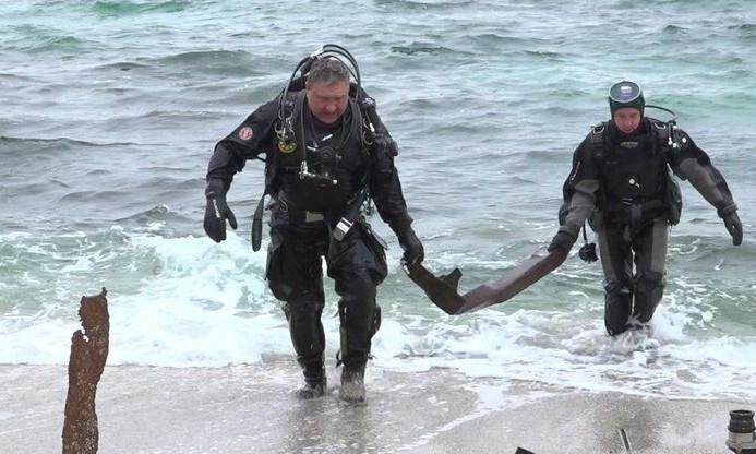 В Одессе пляж «Дельфин» полностью очистили от обломков – владельца затонувшего танкера ждет судебное разбирательство