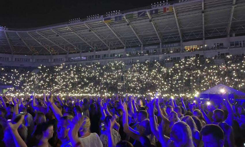 Концерт Монатика в Одессе прошел романтичнее, чем ожидалось