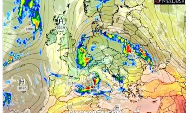 В Одессе объявлено штормовое предупреждение - погода портится