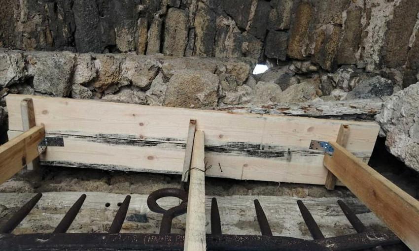 В одесской области временно спасли часть Аккерманской крепости