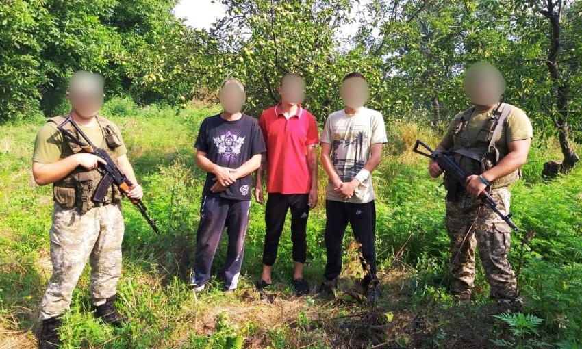 В одесской области граждане Молдовы пытались незаконно перейти через границу