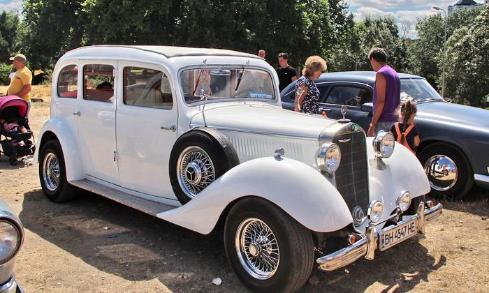 Одесситам покажут легендарные автомобили прошлого столетия