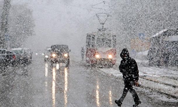 Сегодня обещают дождь и мокрый снег, к выходным потеплеет