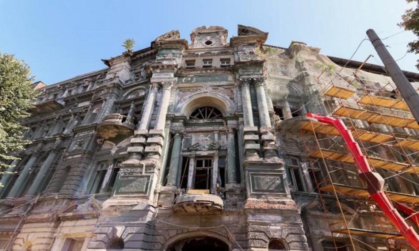 Реставрация дома Руссова войдёт в учебники Украины, — Труханов