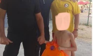 В Одесской Лузановке нашли потерянного ребенка с оранжевым матрасом