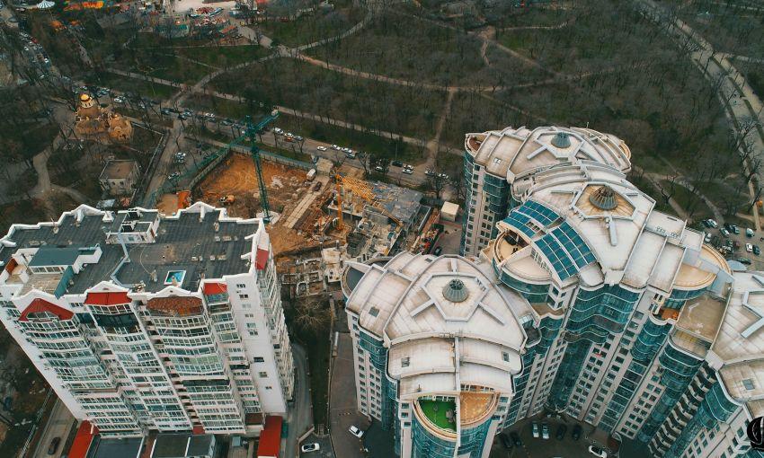 В Одессе строительство элитного жилья прокуратура считает незаконным