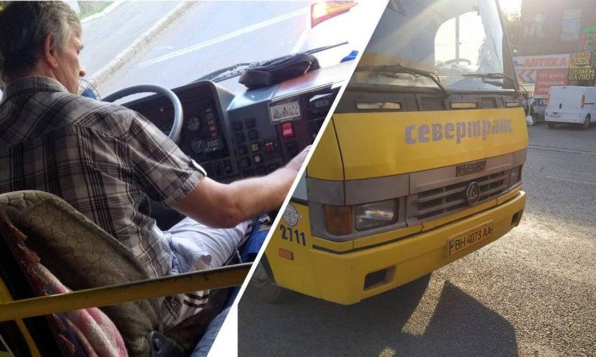 «Я не буду его нюхать»: водитель одесской маршрутки нагло отказался подвозить пенсионера
