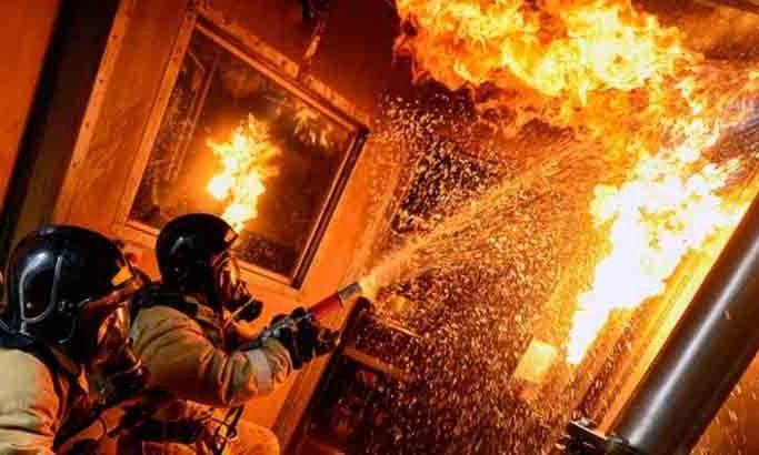 В Одесской области полностью сгорела квартира: один человек погиб