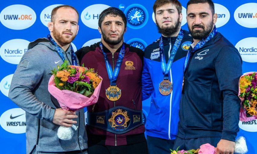 Уроженец Одессы завоевал «бронзу» на чемпионате мира по вольной борьбе