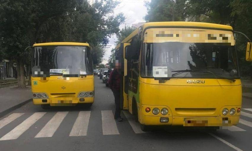 Одесская маршрутка сбила подростка