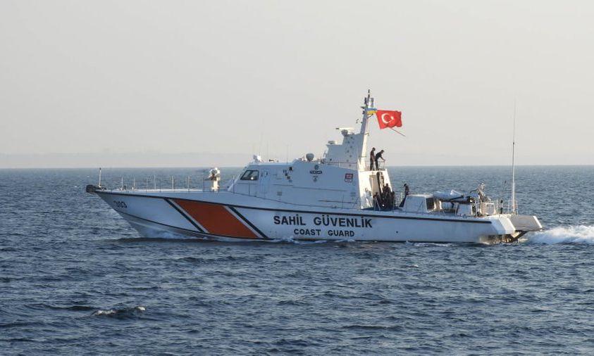 Турецкое судно береговой охраны прибыло в Одессу