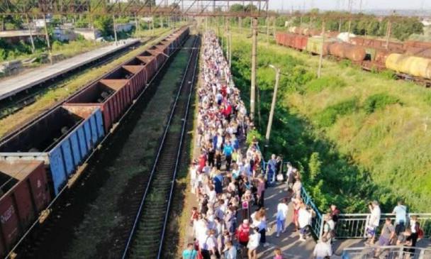 Из-за непогоды поселок Котовского был отрезан от центральной части Одессы