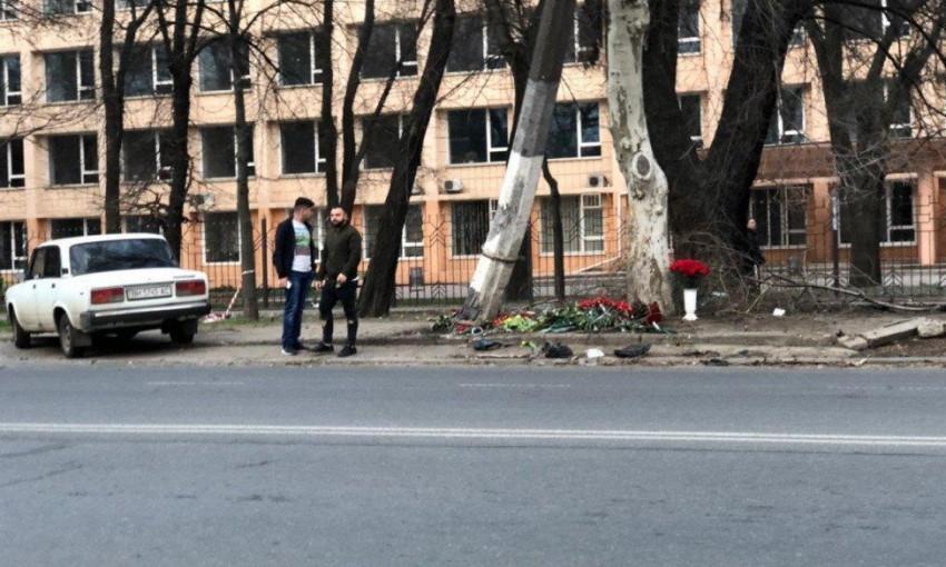Авария на проспекте Шевченко: появилась видеозапись