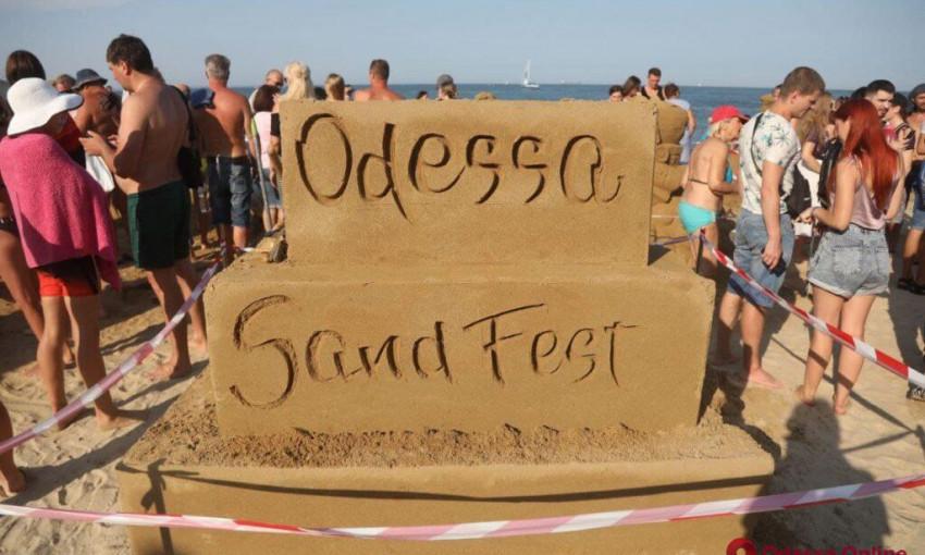 В Одессе завершился пятый фестиваль песчаных скульптур Sand Fest