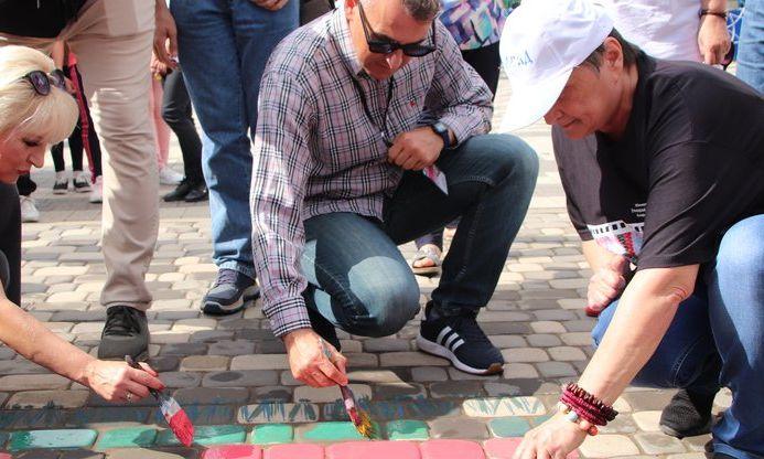 Болградские уличные художники установили национальный рекорд