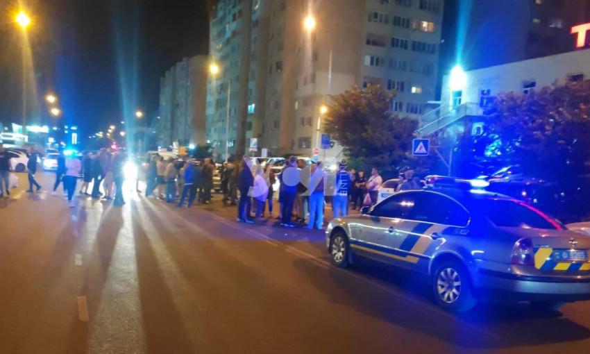 Жители Одессы митинговали против отключения электричества