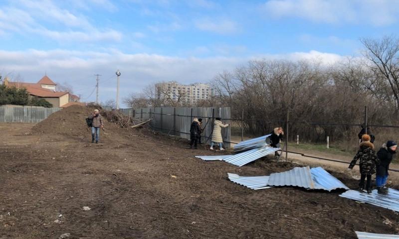 Жители Одессы устроили протест против застройки