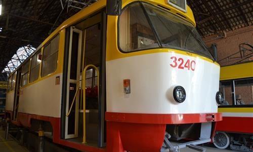 В Одессе изношенным трамваям придают новый вид