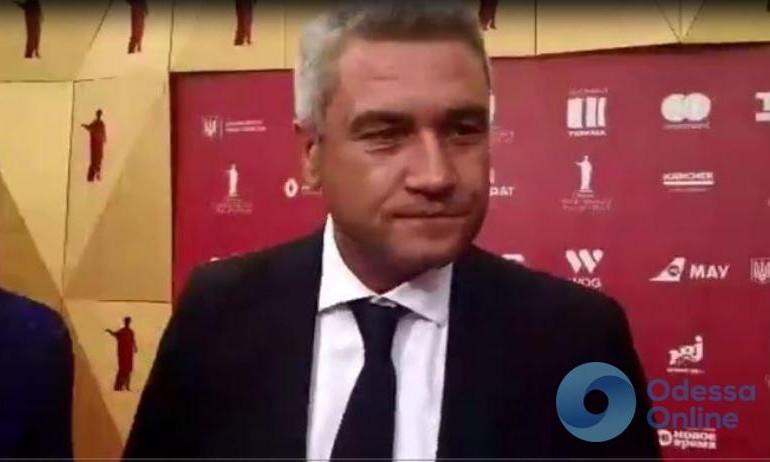 У Урбанского спросили, рады ли одесситки проведению ОМКФ