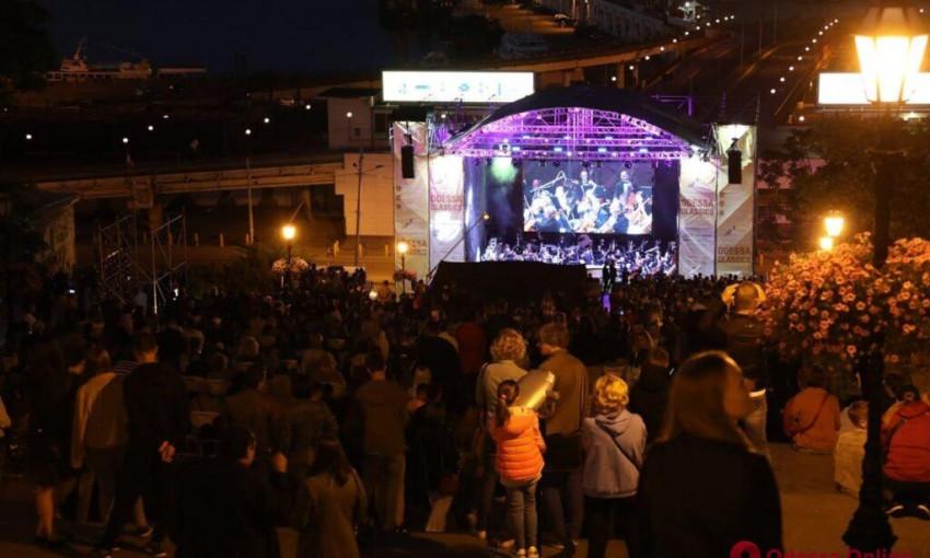 На Потемкинской лестнице прошел удивительный концерт под открытым небом