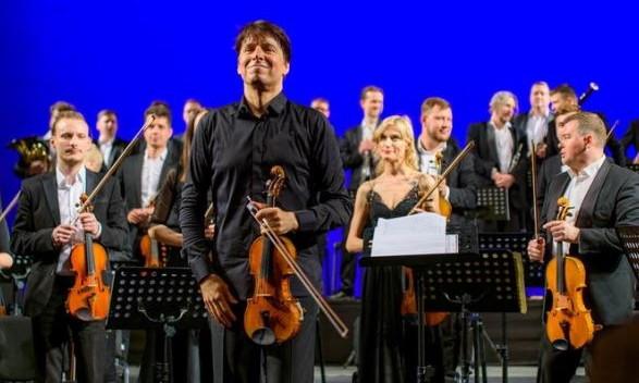 Легендарный скрипач Джошуа Белл дал концерт в Одесской опере