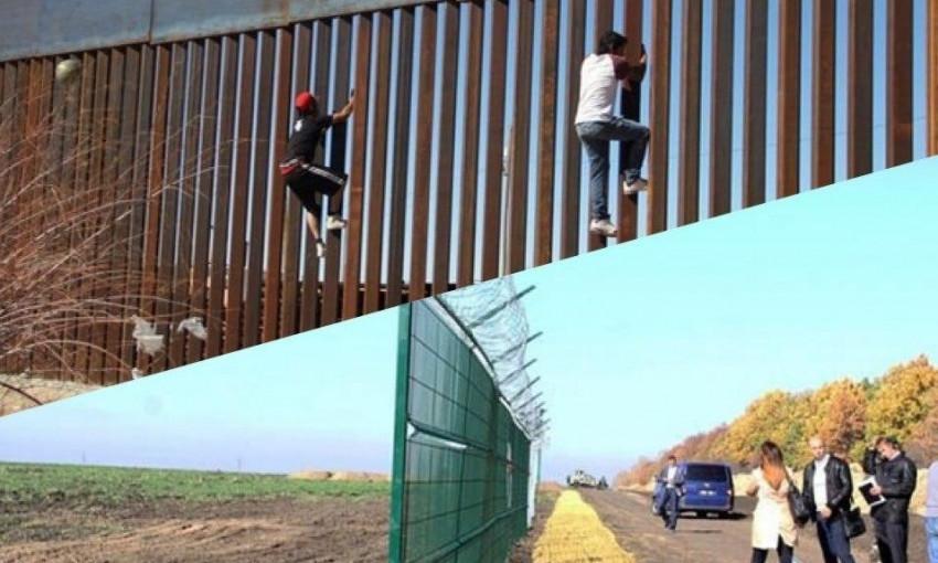На границе с РФ до сих пор продолжают возводить стену