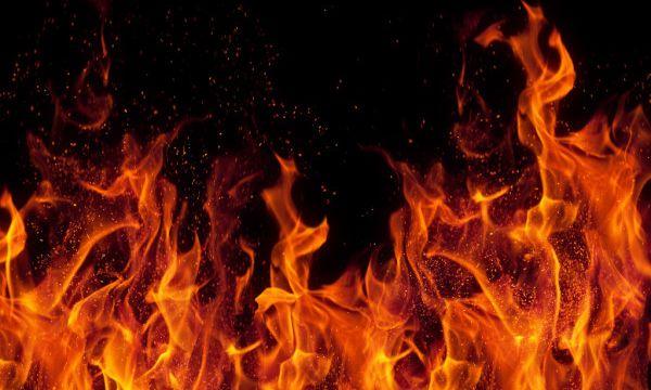 Вблизи «Седьмого неба» сгорел автомобиль