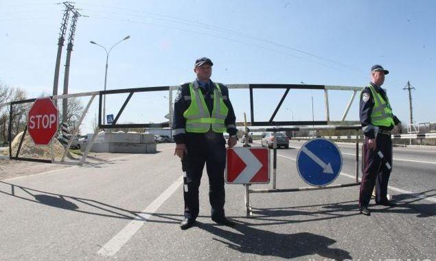 При въезде в Одессу автоперевозчиков будут проверять на блокпостах