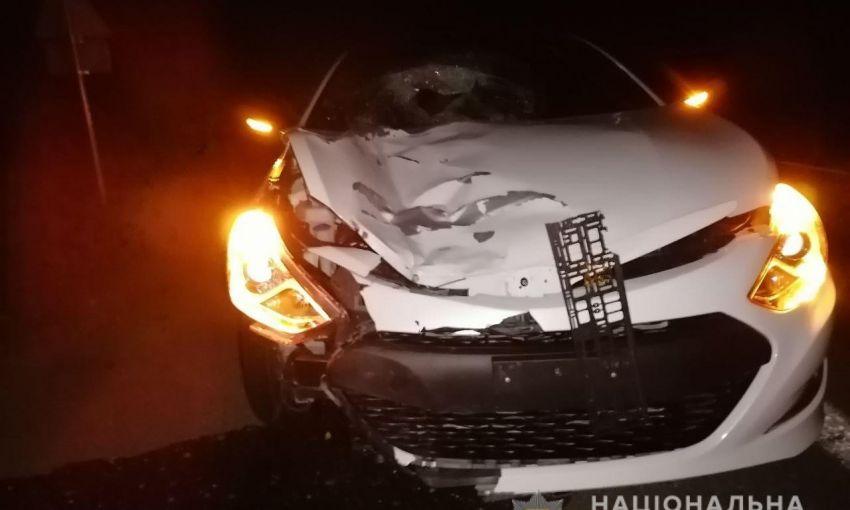 Очередная авария на трассе Киев-Одесса: легковушка переехала пешехода
