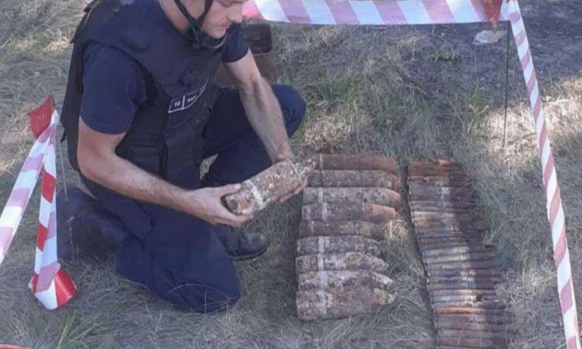 В лесу под Одессой грибники нашли ржавые боеприпасы
