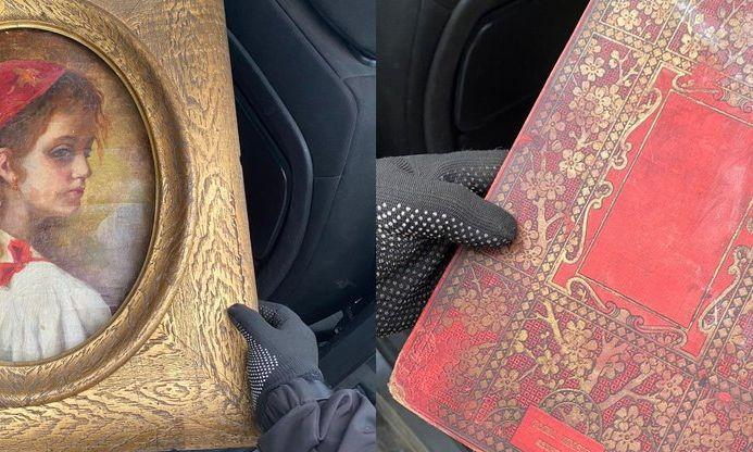 На границе в Одесской области обнаружили старинные реликвии, которые едва ли не покинули Украину