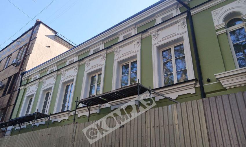В Одессе наконец открыли отреставрированный памятник архитектуры