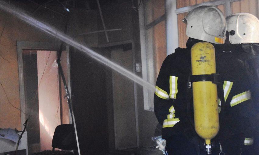 В здании одесского педуниверситета произошёл пожар